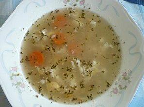 Česneková polévka IV.