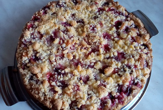 Ovocný koláč / bublanina (nejen) z remosky