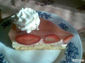 Jahodový dort - krémový