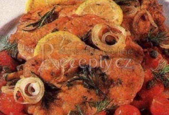 Krůtí řízek s paprikovou krustou