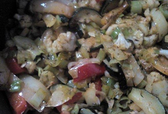 Dušená zelenina - rychle  a chutně