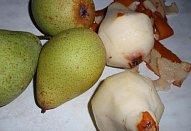 Koláč s hruškovým / jablečným rozvarem - kynutý