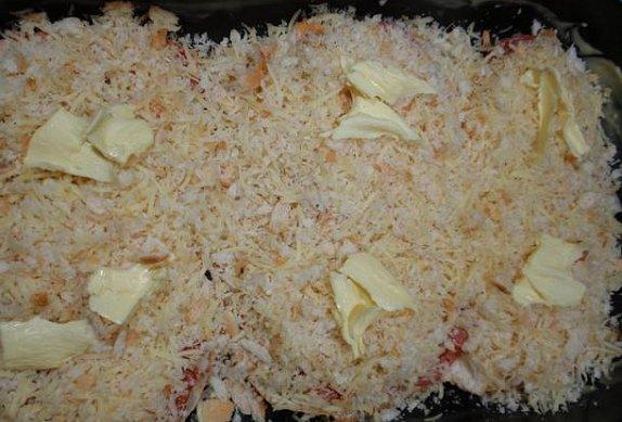 Celer s křupavou sýrovou strouhankou