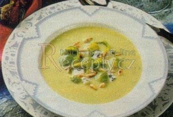 Polévka z růžičkové kapusty photo-0