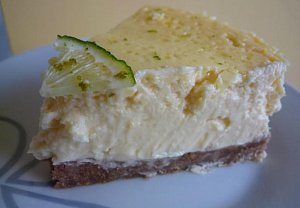 Opravdový cheesecake s dírami jak ementál