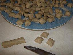 Pohankové noky (gnocchi)