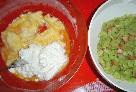 Ovocno-tvarohový koláč