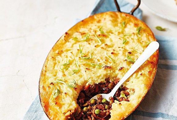 Vesnický páj (cottage pie)