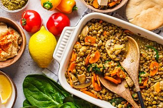 Recepty zdravé nebo bez masa – postup přípravy, suroviny a více variant receptu