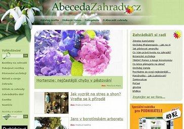 Představujeme Abecedu zahrady, web o zahradě pro zahrádkáře