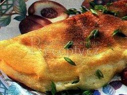 Omeleta s hermelínem