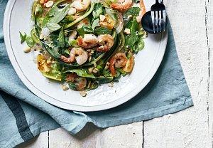 Okurkový salát se skleněnými nudlemi