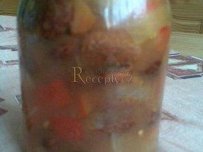 Fazolový salát - sterilovaný