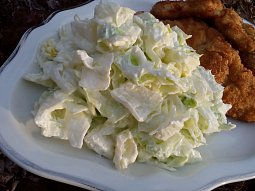 Ledový salát jako příloha
