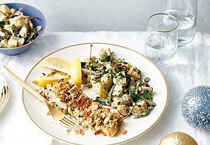 Bramborový salát s kapary