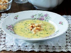 Okurková polévka dle časopisu F.O.O.D.