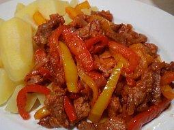 Tandoori masovo-zeleninová směs