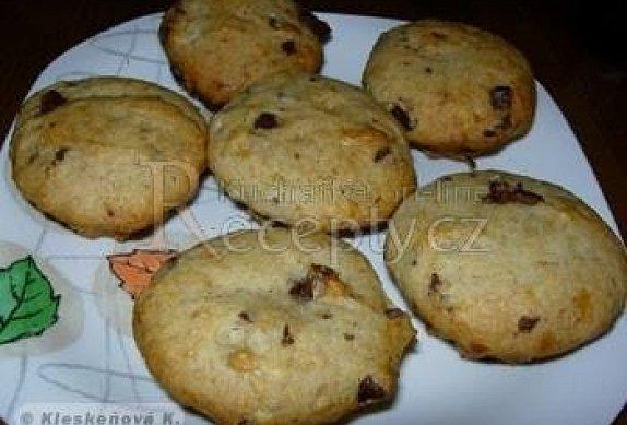 Muffiny banánovo čokoládové