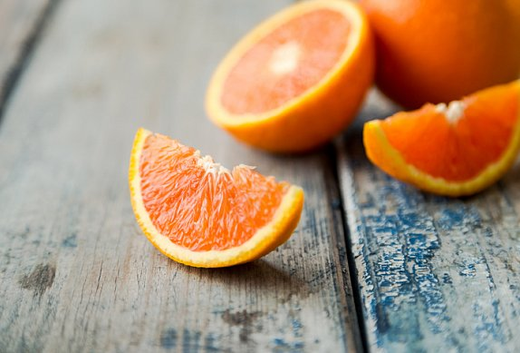 Losos na pomerančích