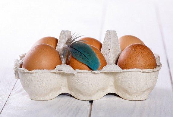 Salát se sázenými vejci