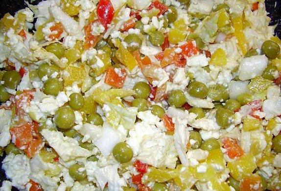 Feferonový salát