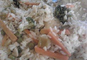 Vegetariánská rýže