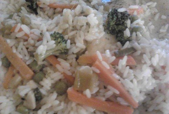 Vegetariánská rýže photo-0