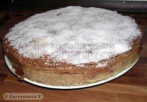 Čokoládovo-kokosový dort