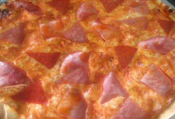 Domácí pizza