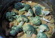 Kuřecí kari se žampiony a zeleninou