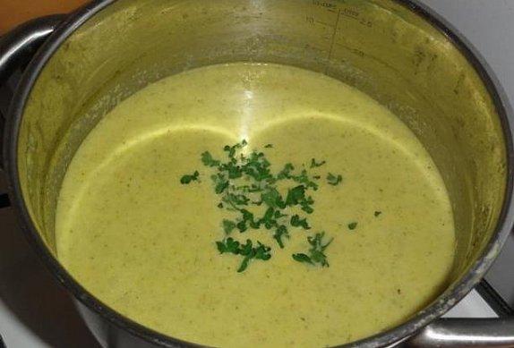 Brokolicová polévka IV