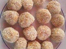 Pomerančové kuličky obalené v kokosu