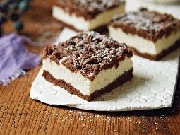 Strouhaný kakaový koláč