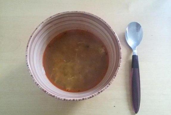 Kmínovo-papriková polévka