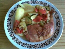 Zeleninová stehýnka - zdravě a chutně