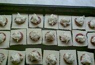 Sýrové koláčky z listového těsta