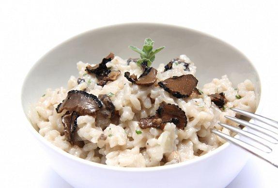 Lanýžové rizoto