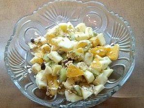 Vitamínový ovocný salát