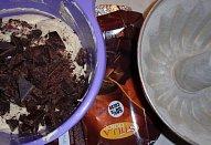 Čokoládová bábovka ze zakysanky