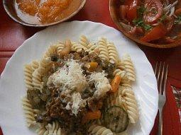 Zeleninová směs na špagety