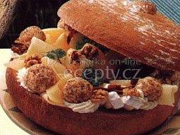 Sýrová chlebová mísa