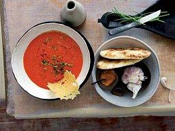 Ostrá papriková krémová polévka