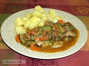 Kuřecí maso na řecký způsob