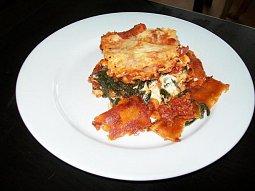 Špenátové lasagne