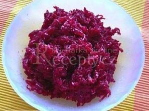 Salát z červené řepy s křenem II.