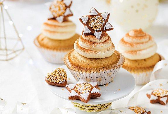 Skořicové cupcakes