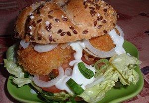 Olomoucké burgery nebo bagetky