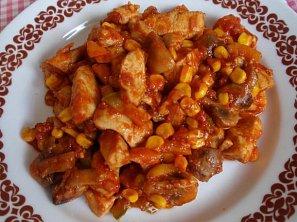 Kuřecí tandoori směs se zeleninou
