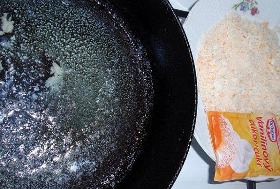 Jednoduchá křupavá drobenka na sladké knedlíky, těstoviny, palačinky...