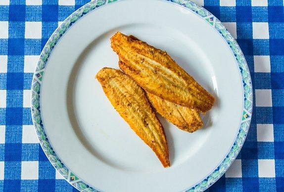 Ryba se špenátem a máslem